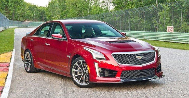 Обзор нового Cadillac CTS-V 2016-2017