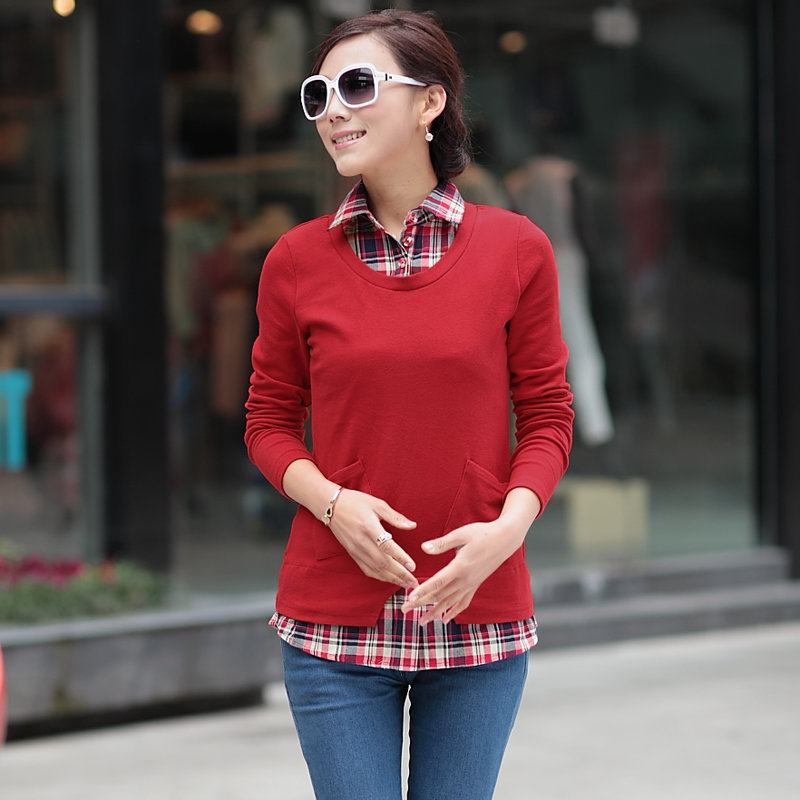 Как смотрится рубашка со свитером фото смотреть