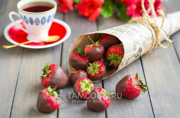 Клубника в шоколаде как сделать