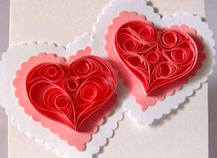 Мая, валентинки своими руками как открытки