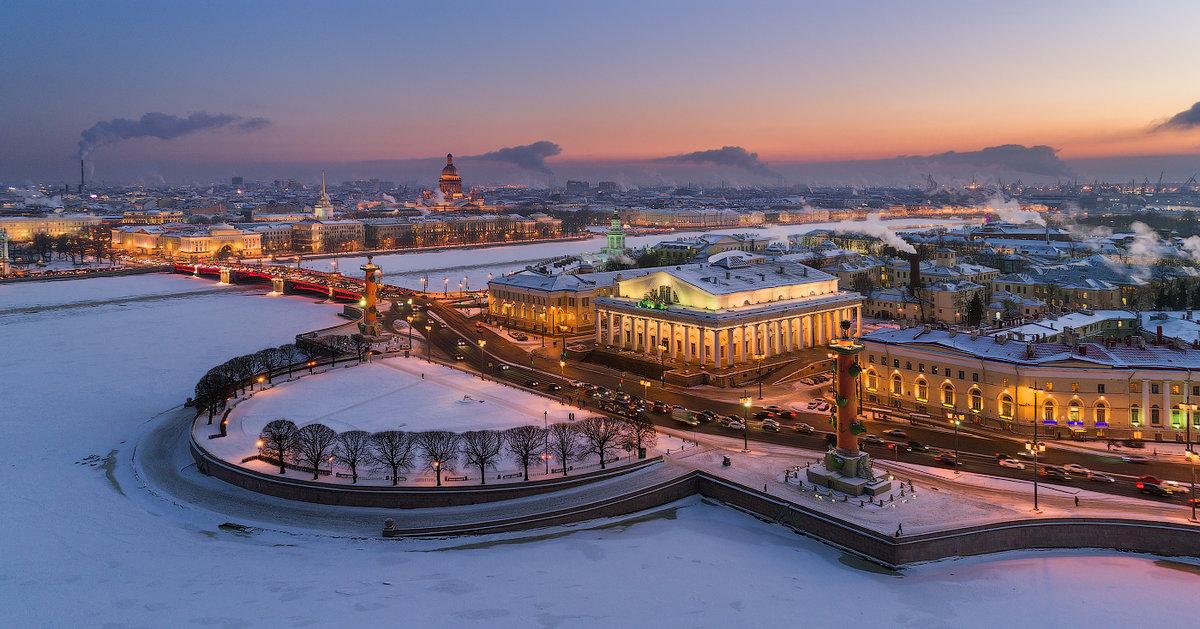 картинки зимний санкт петербург новый