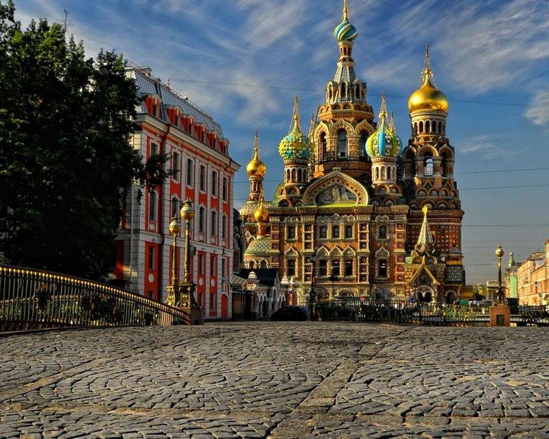Спас на крови в городе Санкт-Петербург.