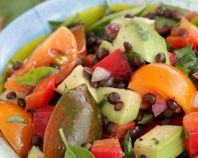 Рецепты салатов и названий с фото