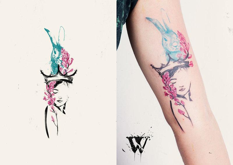 Diseño de tatuajes para Would Tattoo on Behance