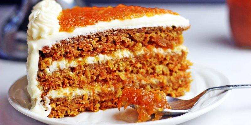Морковно творожный торт рецепт с фото