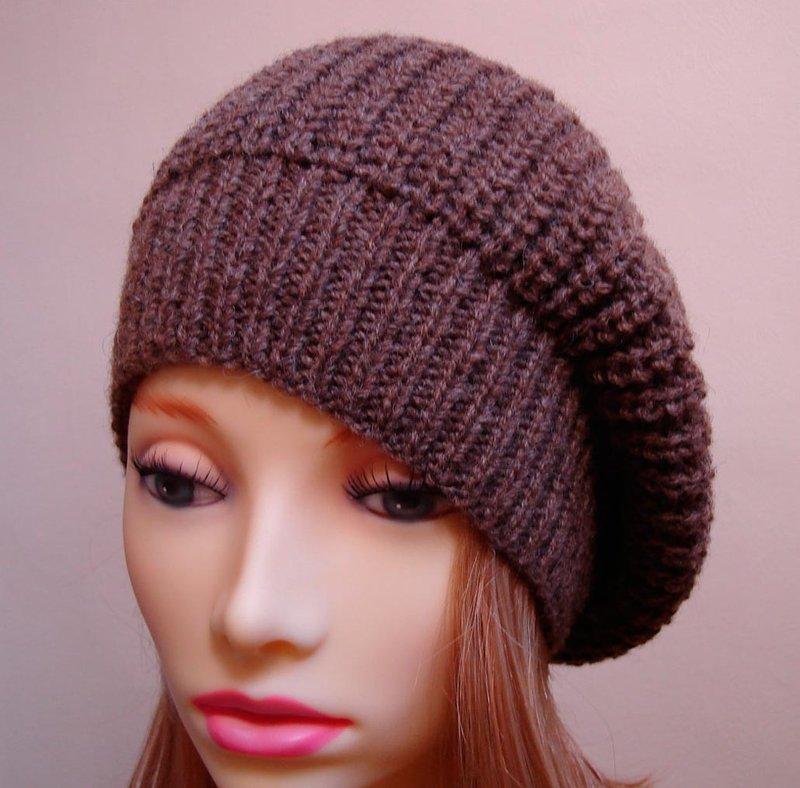 стильные шапочки женские крючком