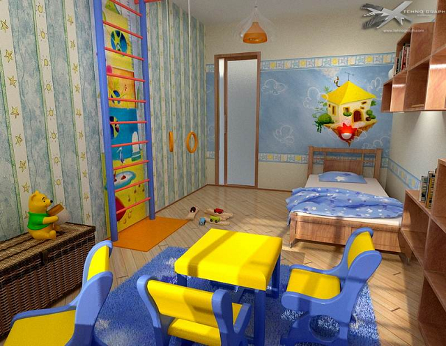Детская комната – одна из самых главных комнат в доме.