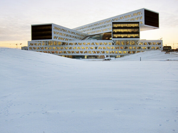 Региональный и международный офисы компании Statoil (Норвегия). Бюро A-Lab