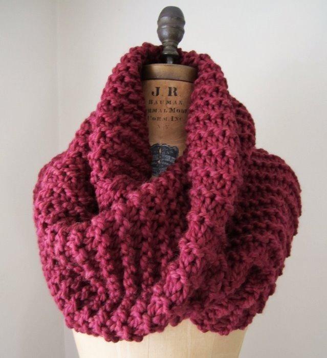 вязание ажурные шарфы схемы и описание