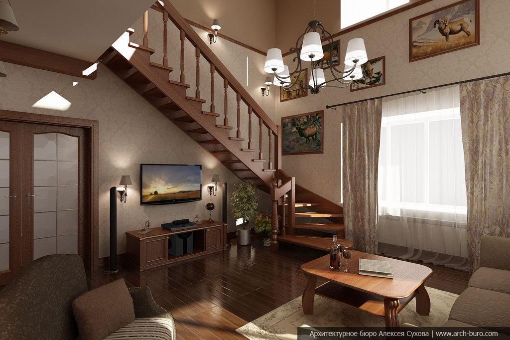 Дизайн кухни-столовой-гостиной: 45 фото дизайна в доме 953