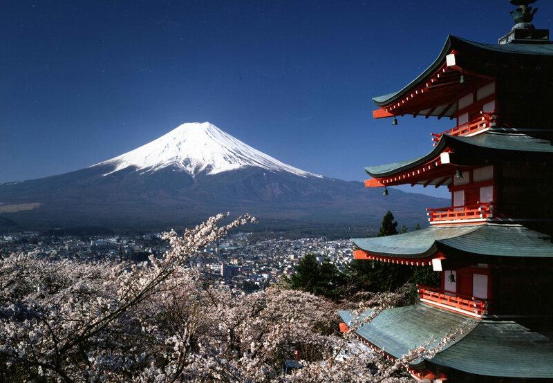 Гора Фудзи – самая знаменитая среди всех достопримечательных мест Японии
