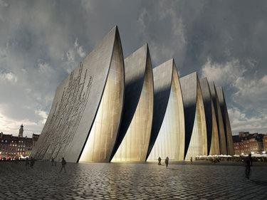архитектура объемных сооружений