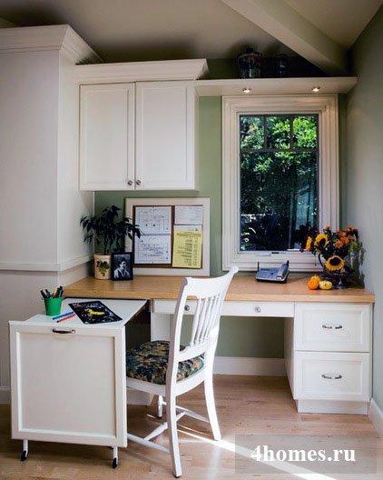Если вам часто приходится заниматься служебными делами у себя дома, подумайте об обустройстве мини-офиса.