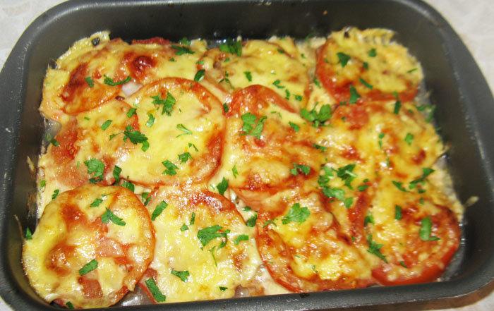рецепт рыбы с сыром в духовке
