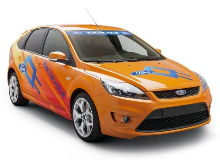 Ford Focus ST BEV Concept