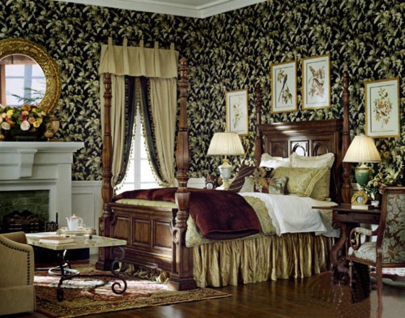 Florence grace distinguished style bedroom decorative sty...