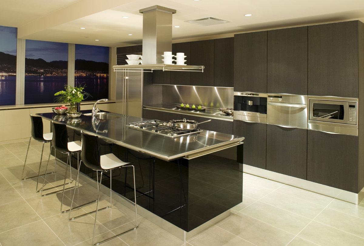Картинки с интерьерами кухни