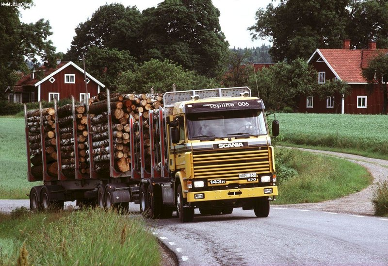 Scania 143H 500 6×2 Timber Truck