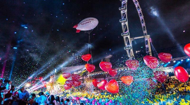 Чингай парад (Chingay Parade) – событие национального масштаба, самый грандиозный парад в Азии, в котором участвуют актеры, музыканты и передвижные сцены-платформы.
