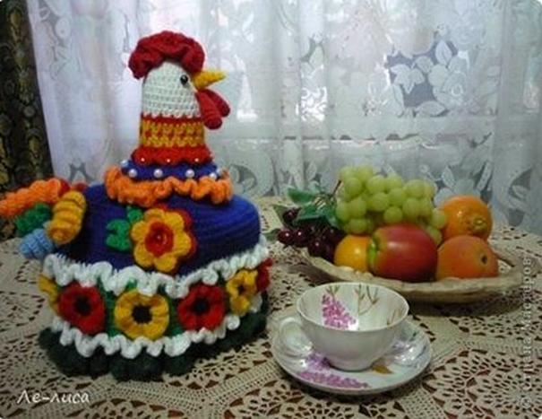 Грелка на чайник - ручная работа