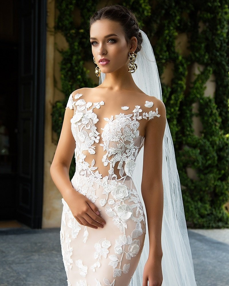 Год, платья для невесты картинки
