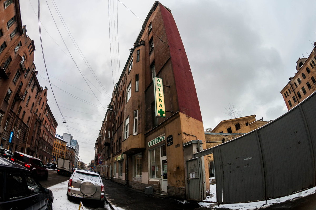фото необычных зданий в санкт петербурге деятельности дает возможность