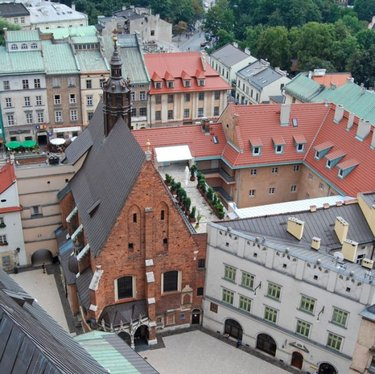 старая рига в латвии фото крыш