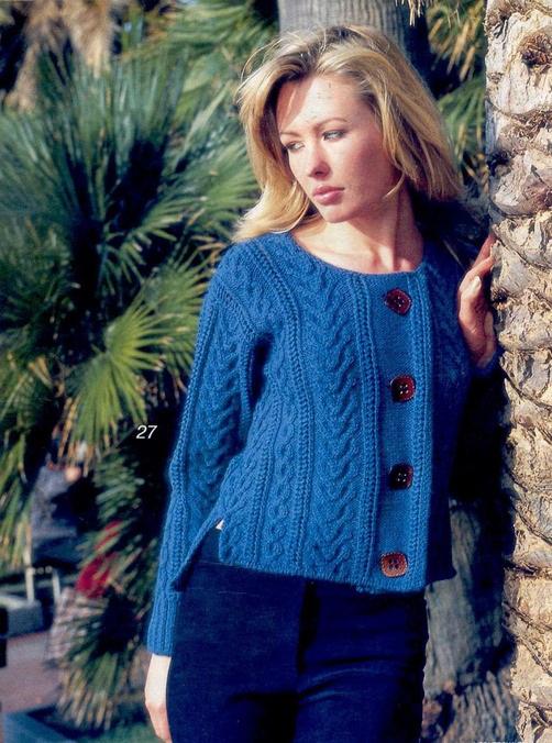 Вязание спицами для женщин. Модные модели по схемам с 3
