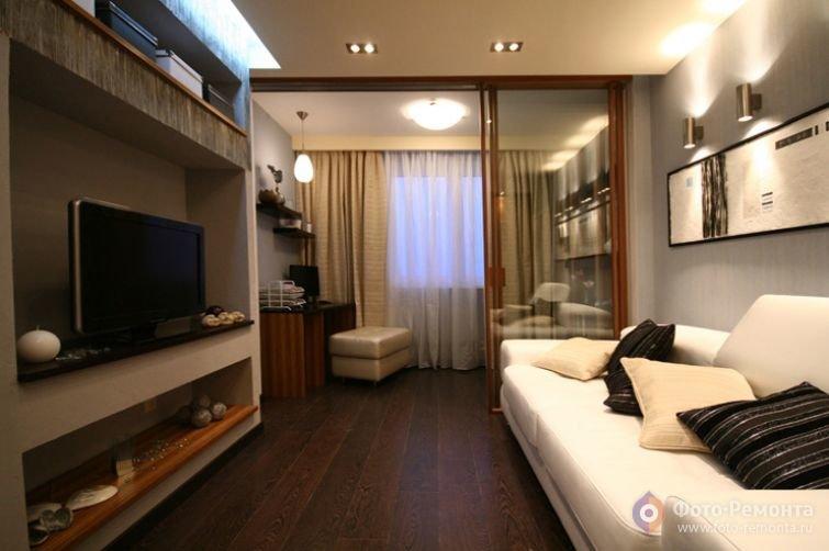 дэнс дизайн гостиной спальни 20 кв м центр