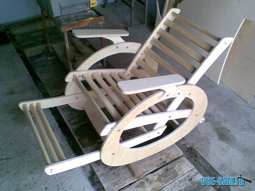 Кресло-качалка своими руками (44 фото чертежи, варианты) 17