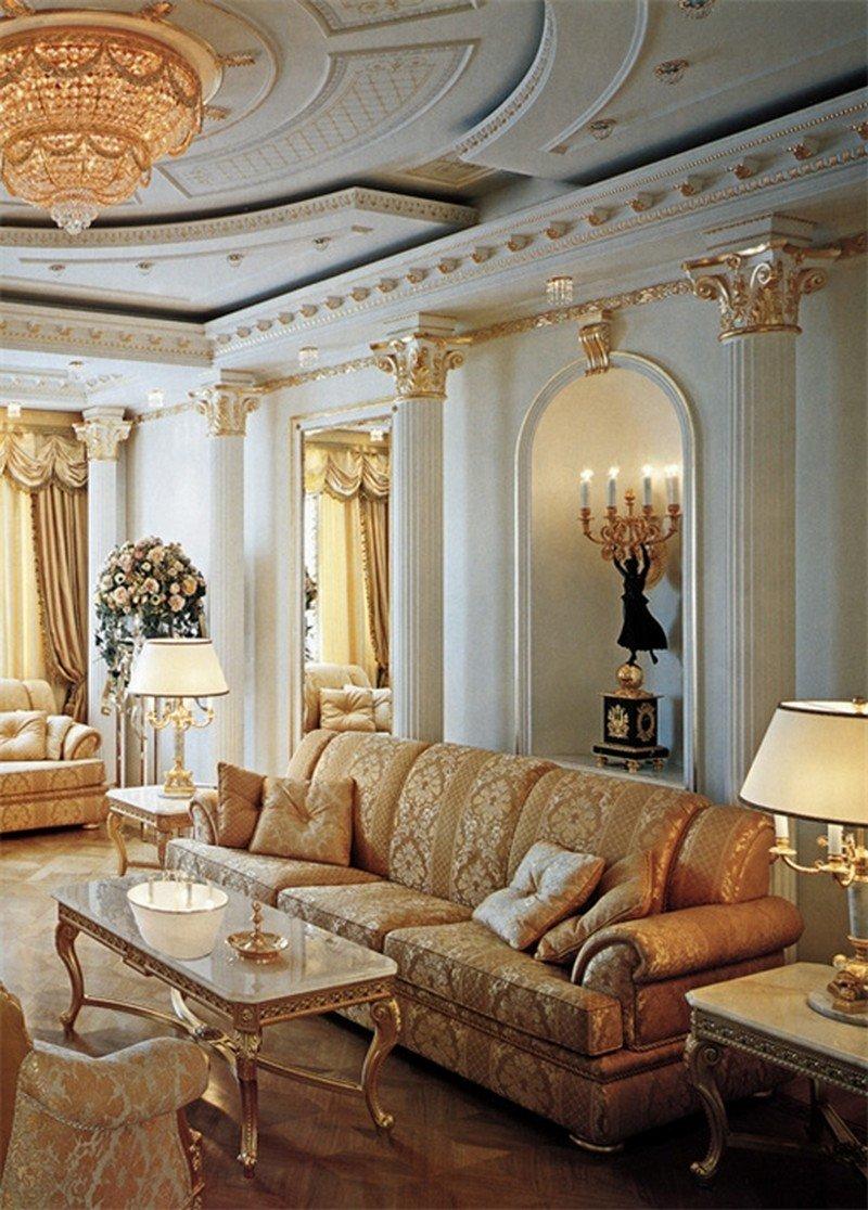 Дизайн интерьеров и строительство дома в стиле барокко
