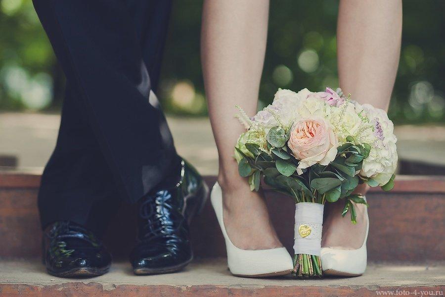 Свидетельница свадьбе букетов