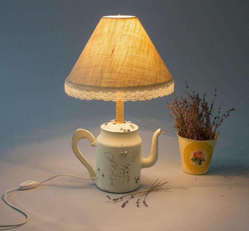 освещение Оригинальный светильник в стиле шебби-шик