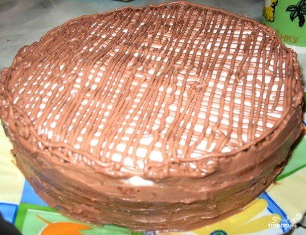 Торт минутка фото рецепт