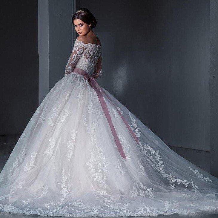 Из чего делают свадебные юбки
