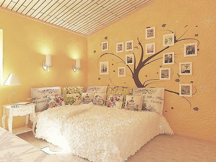 Дизайн стен спальни своими руками фото 173