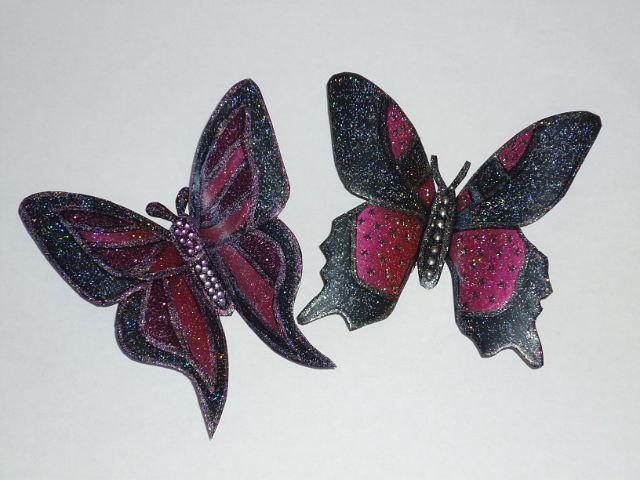 Бабочки на магнитах своими руками 987