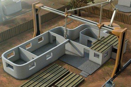3D принтер для строительства домов — миф или реальность?