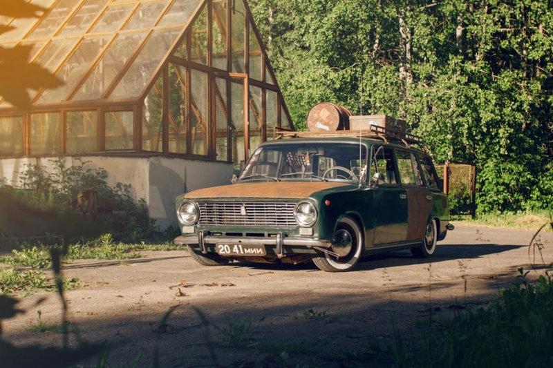 40-летний ВАЗ-2102 в стиле Rat Look