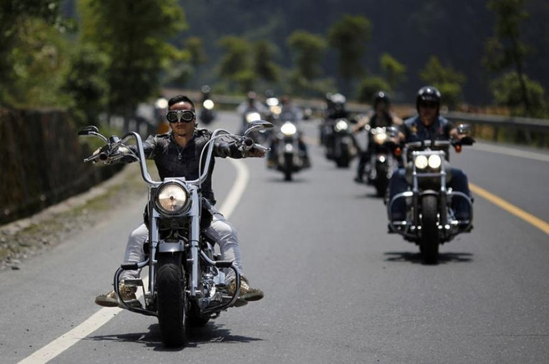 5ый ежегодный слет Harley-Davidson в Китае | Портал автолюбителей Carakoom Ltd