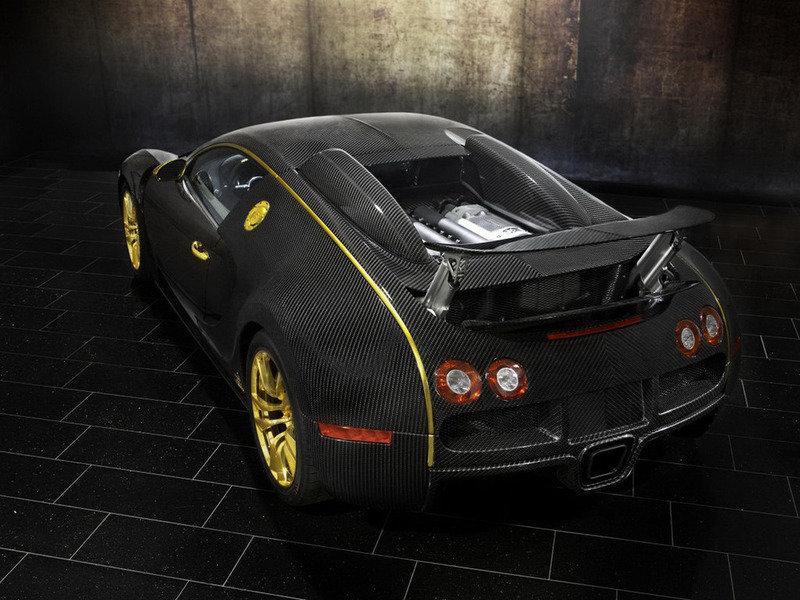 Bugatti Veyron с карбоновым кузовом