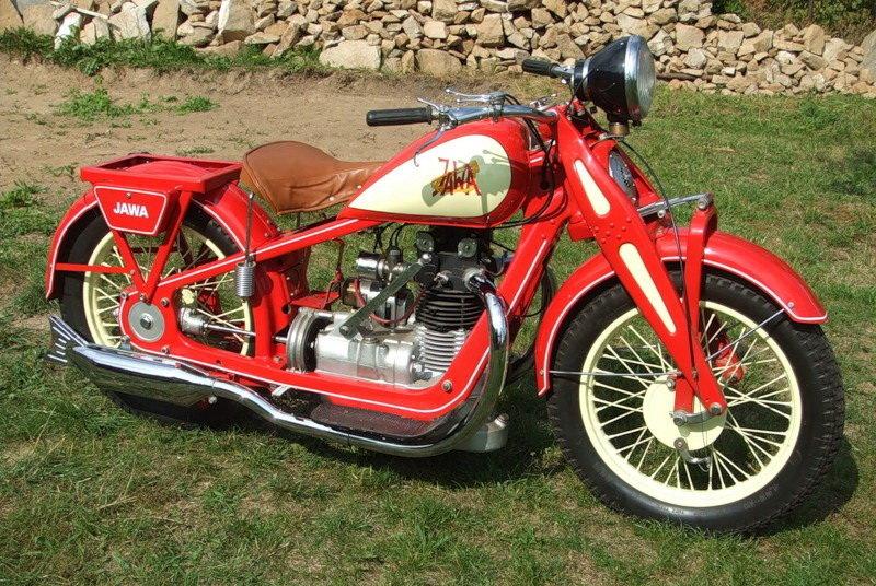 фото мотоцикла ява