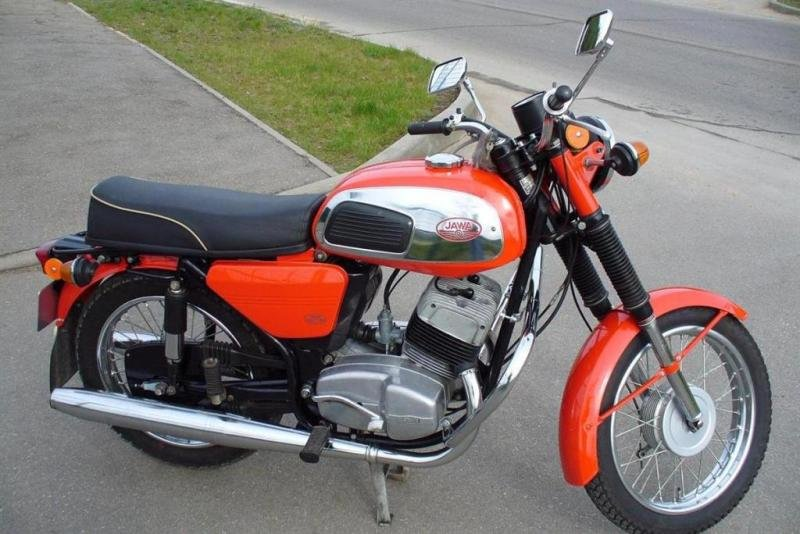 Фото мотоцикла ява 350