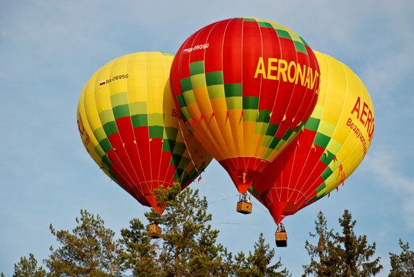 Фотографии аэростатов, галерея фотографий воздушных шаров.