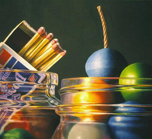 Фотореалистичная живопись. Американский художник Glennray Tutor