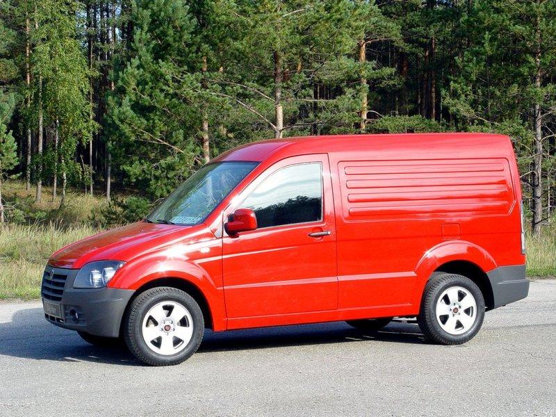 ГАЗ 2332 CityVan / Заводские модели и прототипы