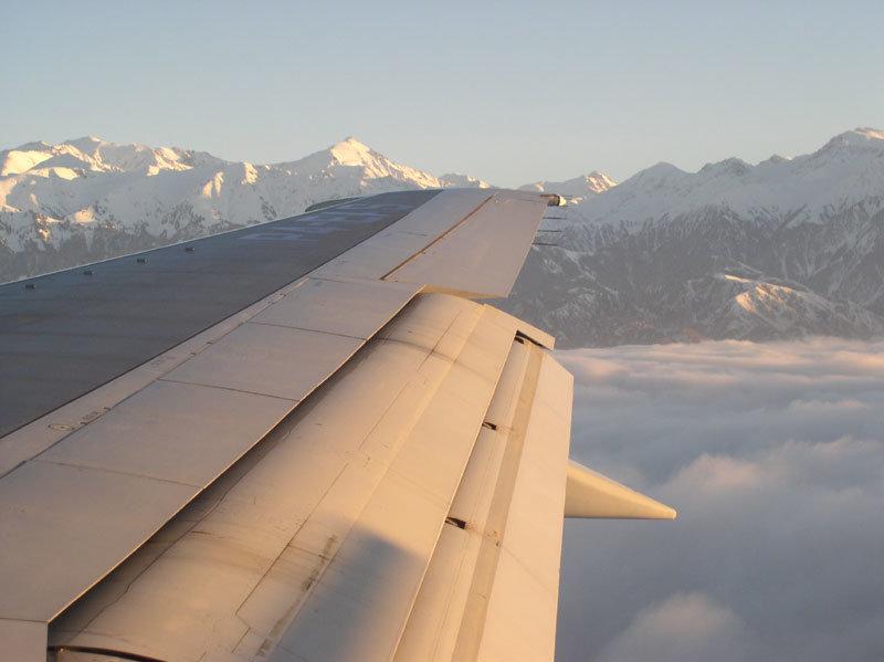 Горы Алматы из окна самолета горы самолет алматы