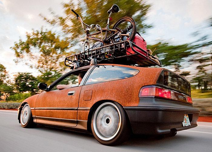 Honda Civic CRX в стиле Rat Look
