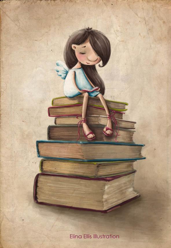 Иллюстрации Элины Эллис