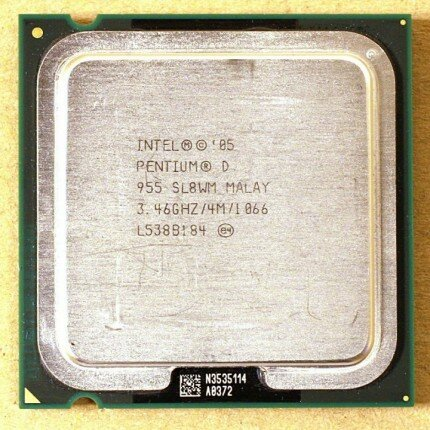 Intel Pentium D 955